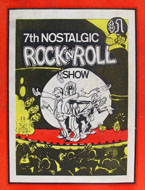 7th Nostalgic Rock 'N' Roll Show Magazine