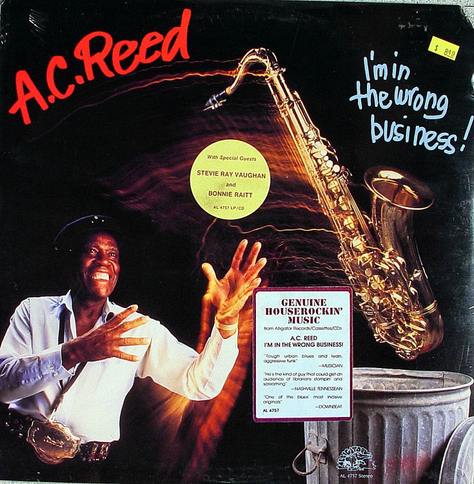 """A.C. Reed Vinyl 12"""" (New)"""