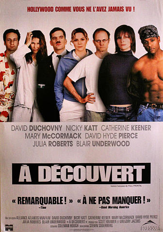 A Decouvert (Full Frontal) Poster