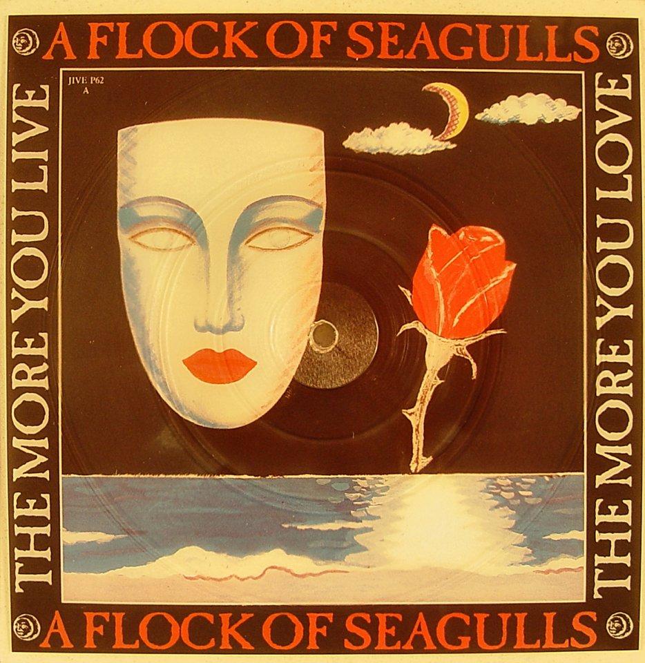 """A Flock of Seagulls Vinyl 7"""" (New)"""