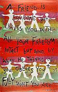 A Friend Poster
