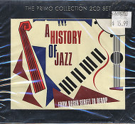 A History Of Jazz: From Basin Street To Bebop CD