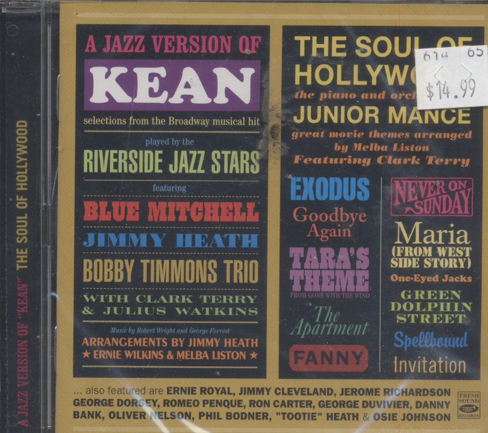 """A Jazz Version Of """"Kean"""" / The Soul Of Hollywood CD"""