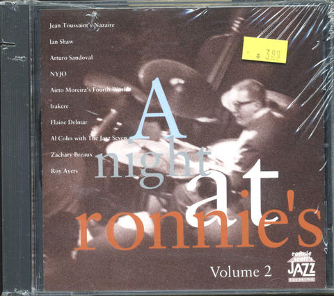 A Night at Ronnie Scott's Vol. 2 CD