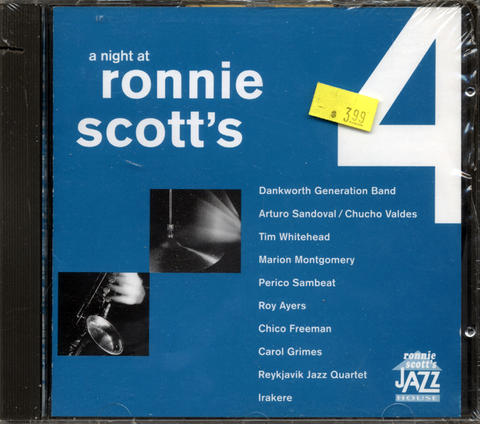 A Night at Ronnie Scott's Vol. 4 CD