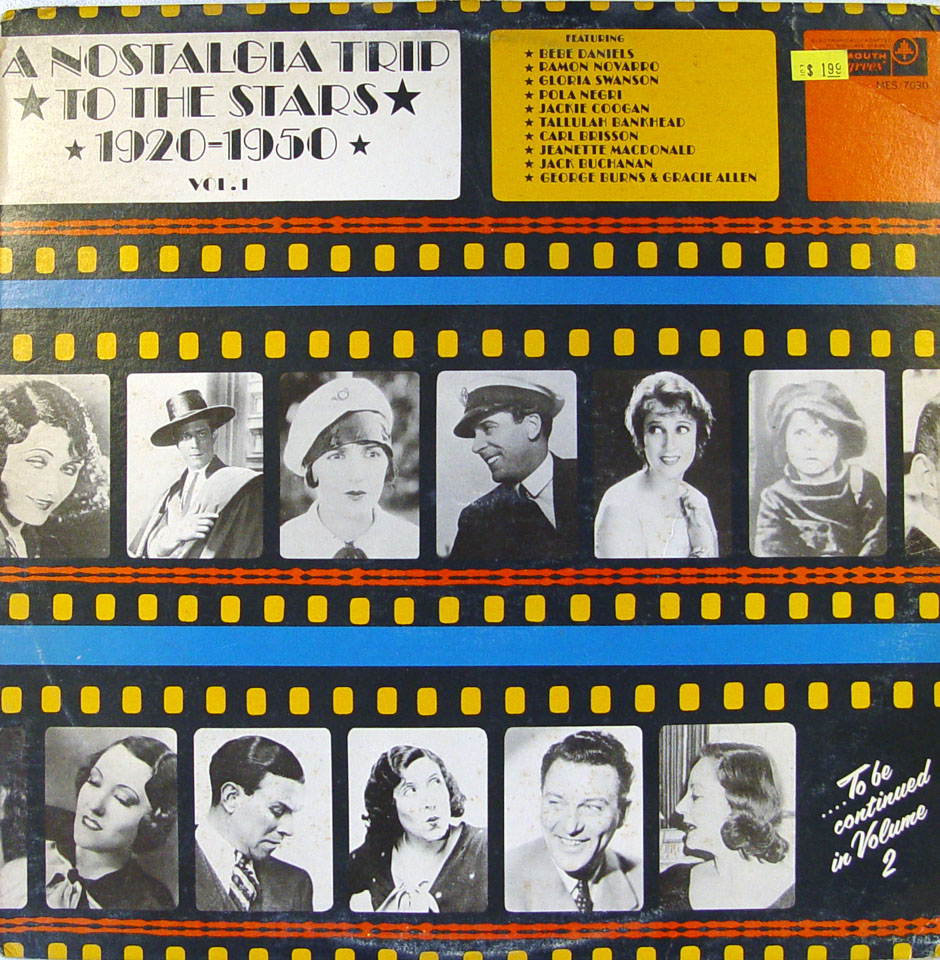 "A Nostalgia Trip To The Stars 1920-1950 Vol. 1 Vinyl 12"" (Used)"