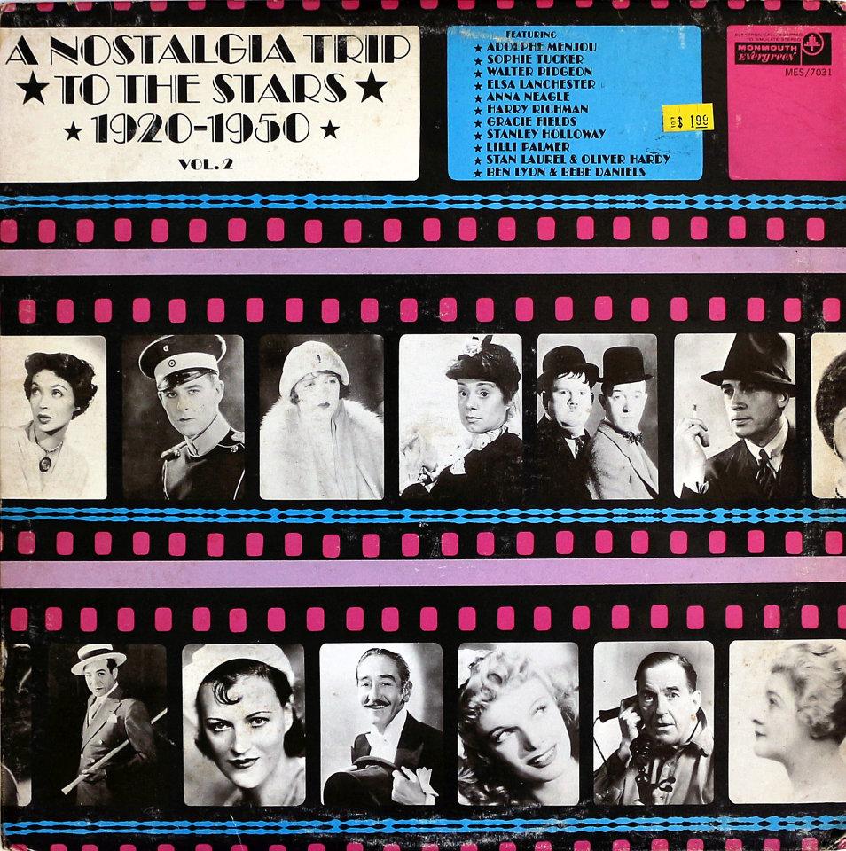 "A Nostalgia Trip To The Stars 1920-1950 Vol. 2 Vinyl 12"" (Used)"