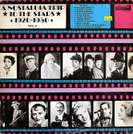 "A Nostalgia Trip To The Stars 1920-1950 Vol. 2 Vinyl 12"" (Used)"