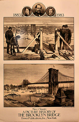 A Picture Story of The Brooklyn Bridge Poster
