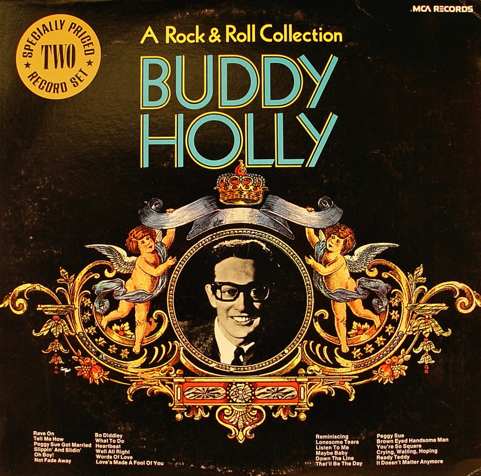 """A Rock & Roll Collection Buddy Holly Vinyl 12"""" (Used)"""