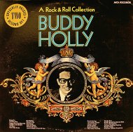 "A Rock & Roll Collection Buddy Holly Vinyl 12"" (Used)"