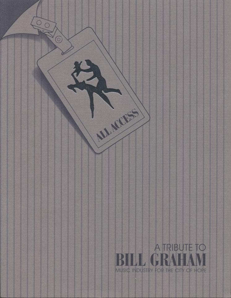 A Tribute To Bill Graham Program