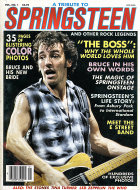 A Tribute To Bruce Springsteen And Other Rock Legends Vol. 1 No. 1 Magazine