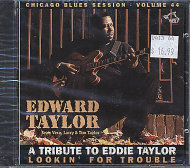 A Tribute To Eddie Taylor CD