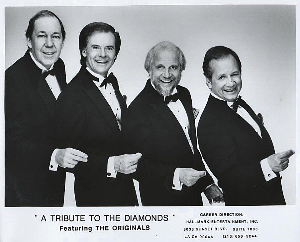 A Tribute to The Diamonds Featuring The Originals Promo Print