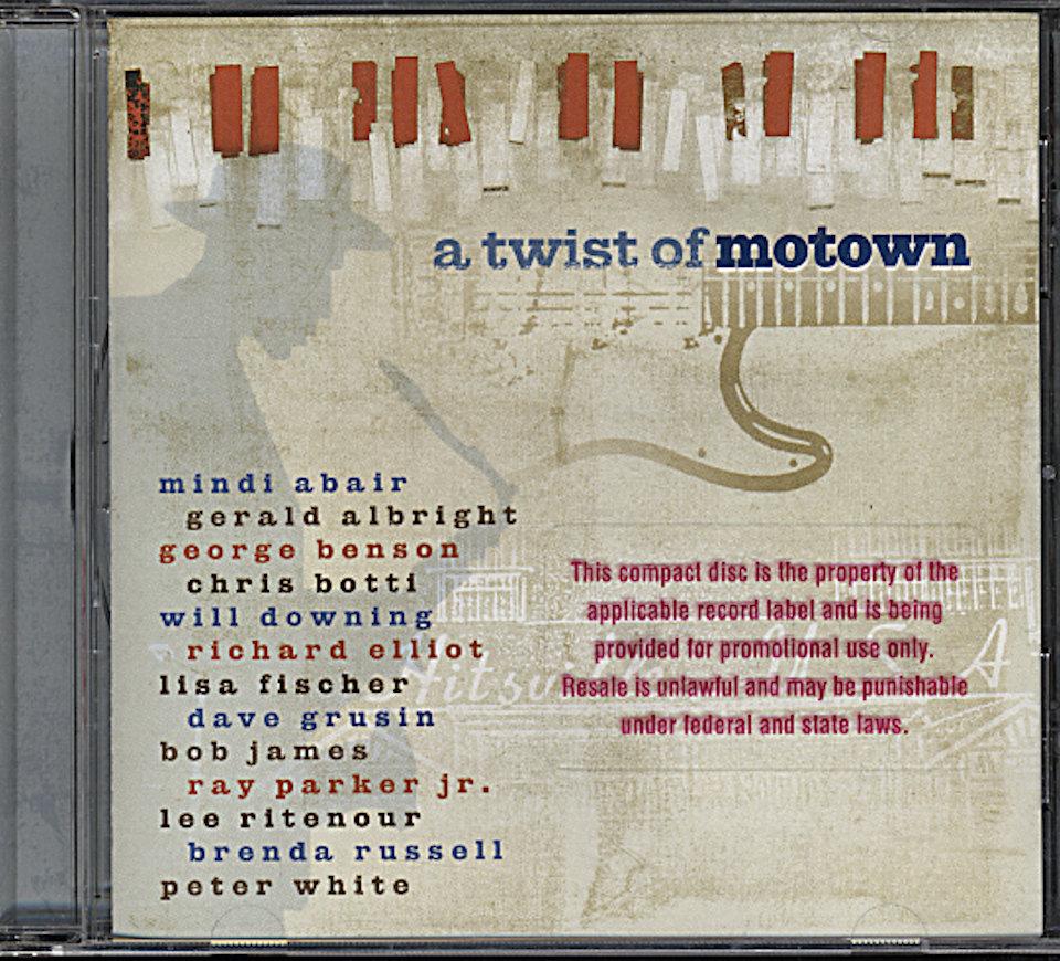 A Twist of Motown CD
