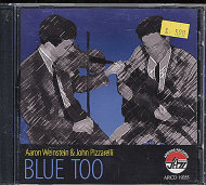 Aaron Weinstein / John Pizzarelli CD