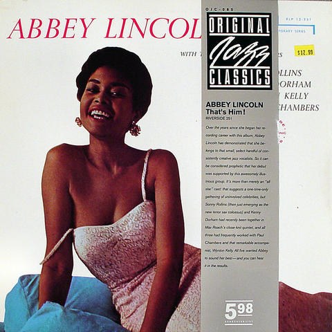 "Abbey Lincoln Vinyl 12"" (Used)"
