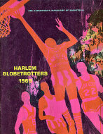 Abe Saperstein's Magicians Of Basketball: Harlem Globetrotters Magazine