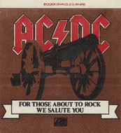 AC/DC Backstage Pass