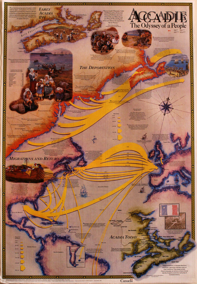 Acadie: The Odyssey of a People Poster