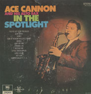 "Ace Cannon and his Alto-Sax Vinyl 7"" (Used)"