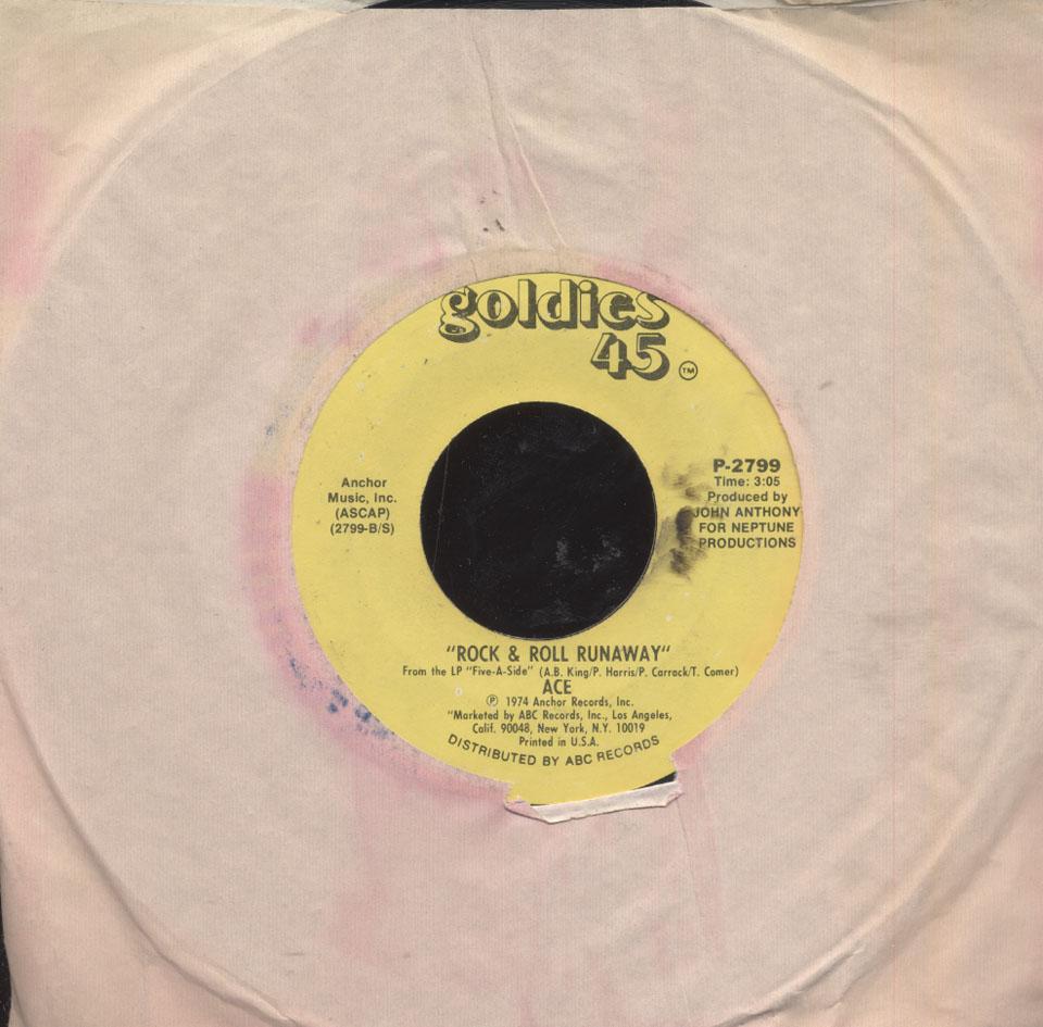 "Ace Vinyl 7"" (Used)"