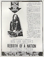 Acid Mantra or Rebirth of a Nation Handbill