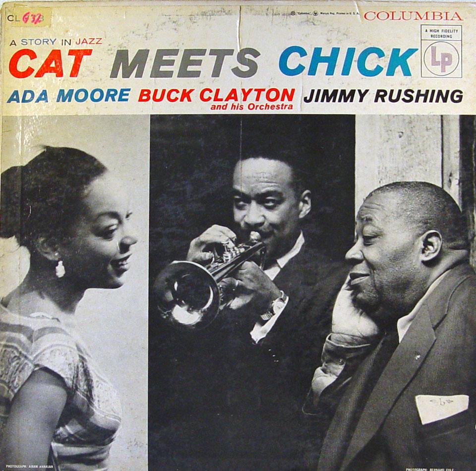 """Ada Moore / Buck Clayton / Jimmy Rushing Vinyl 12"""" (Used)"""
