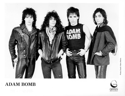 Adam Bomb Promo Print