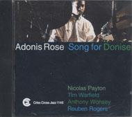 Adonis Rose Quintet CD