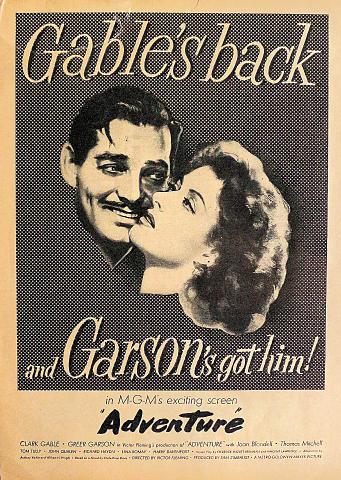 Adventure Vintage Ad