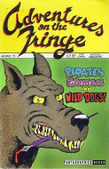 Adventures on the Fringe #5 Comic Book
