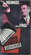 Advise & Consent VHS