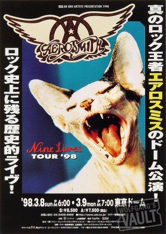 Aerosmith Handbill