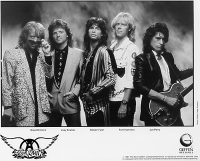 Aerosmith Promo Print
