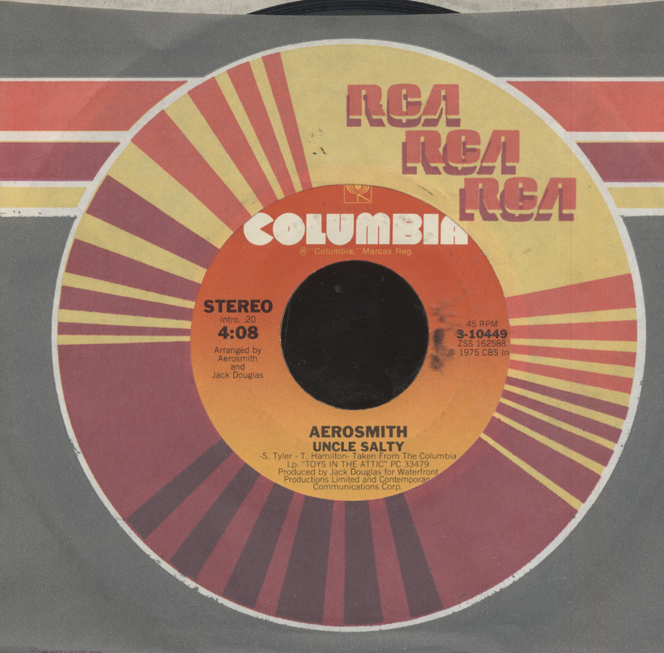 "Aerosmith Vinyl 7"" (Used)"