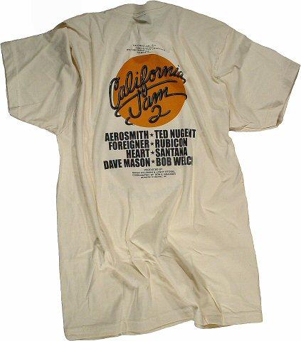 Aerosmith Women's T-Shirt reverse side