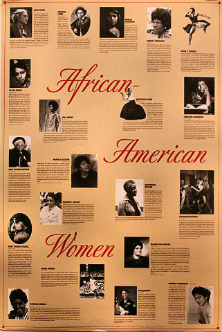 African-American Women Poster