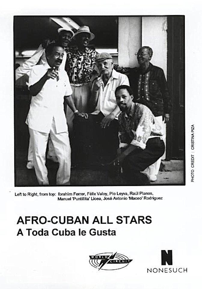 Afro-Cuban All Stars Promo Print