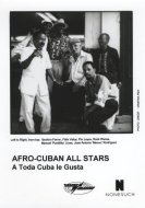 Afro-Cuban All Stars Promo Print