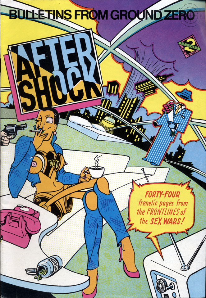 After Shock Comic Book
