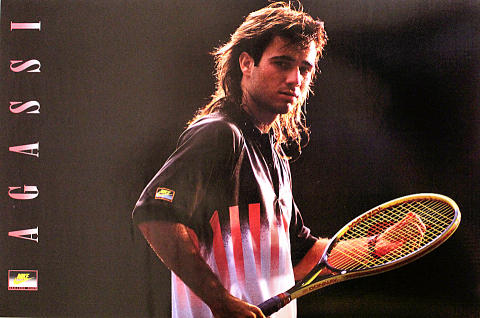 Agassi Poster