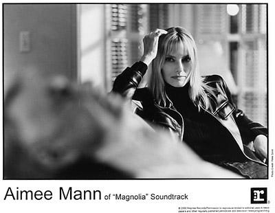 Aimee Mann Promo Print