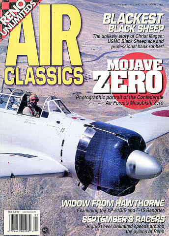 Air Classics Magazine January 1997 Magazine
