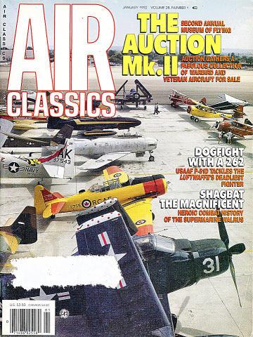 Air Classics Vol. 28 No. 1 Magazine