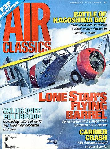 Air Classics Vol. 29 No. 11 Magazine