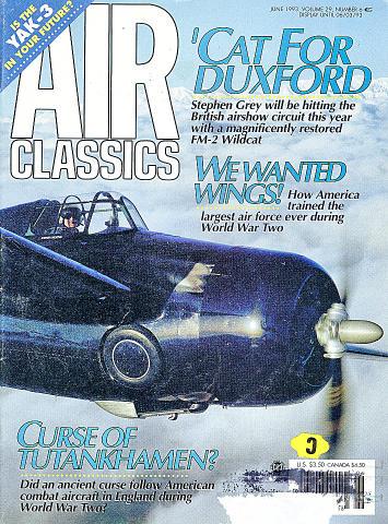 Air Classics Vol. 29 No. 6 Magazine