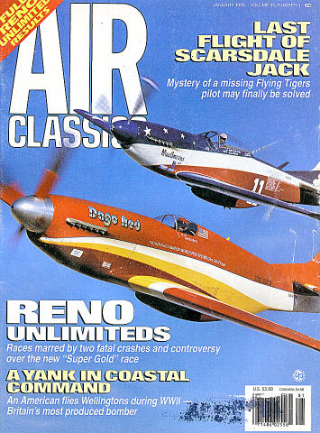 Air Classics Vol. 31 No. 1 Magazine