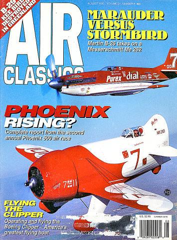 Air Classics Vol. 31 No. 8 Magazine